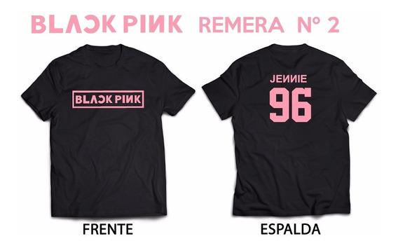 Blackpink Jennie 96 Kpop Remera Nº2