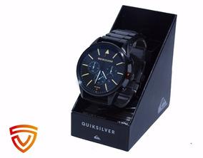 Relógio Quiksilver Metal Preto