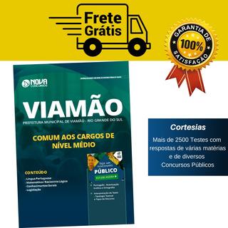 Apostila Comum Cargos De Nível Médio Prefeitura Viamão Rs
