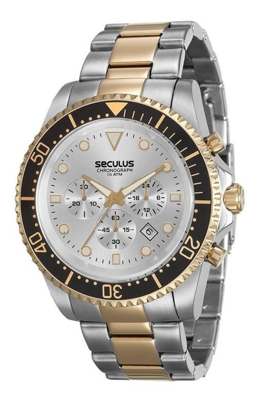 Relógio Seculus 13024gpsvba4