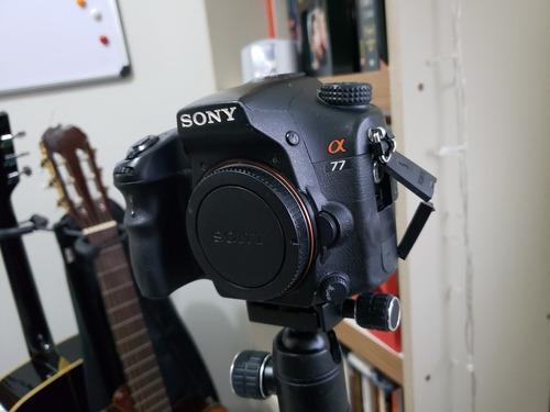 Sony A77 - Apenas Corpo Defeito Tela