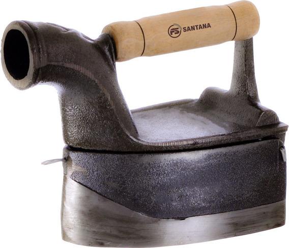 Ferro Chaminé Braseiro Ferro Fundido Santana 16x10cm