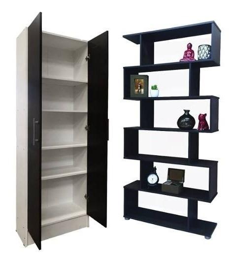 Biblioteca Cubo + Despensero Organizador De Cocina 1,80m