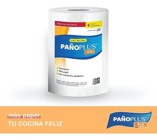 Imagen 1 de 2 de Pañoplus Eco 1 Rollo Por 150 Paños, Medida 26 X 26 Cms.