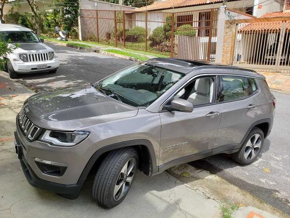 Jeep Compass Flex Longitude Aut. 2018 Teto Solar Pac Premium