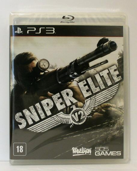 Sniper Elite V2 Jogo Ps3 Novo Lacrado Mídia Física