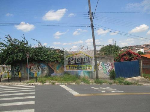 Terreno Comercial Para Locação, Jardim Nova Hortolândia I, Hortolândia. - Te0608