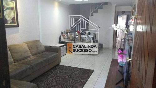 Sobrado Com 2 Dormitórios À Venda, 135 M² Por R$ 540.000,00 - Vila Guilhermina - São Paulo/sp - So0405
