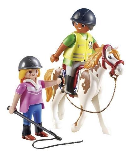 Playmobil Country Soft Bag Aula De Equitação 9258