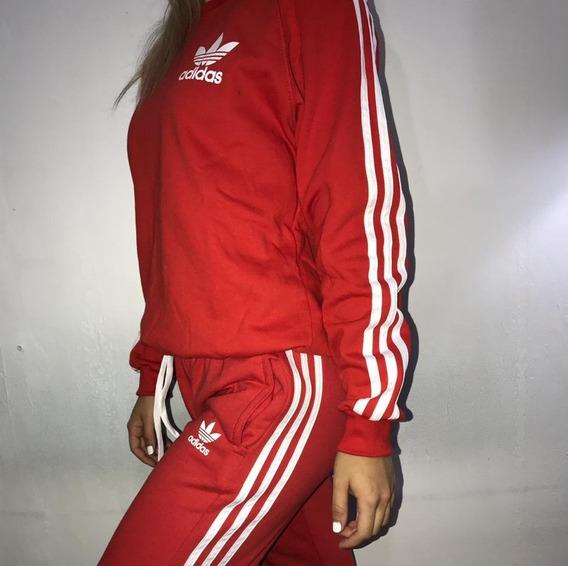 Buzo Rojo Adidas Mujer Ropa Verano Barata Online