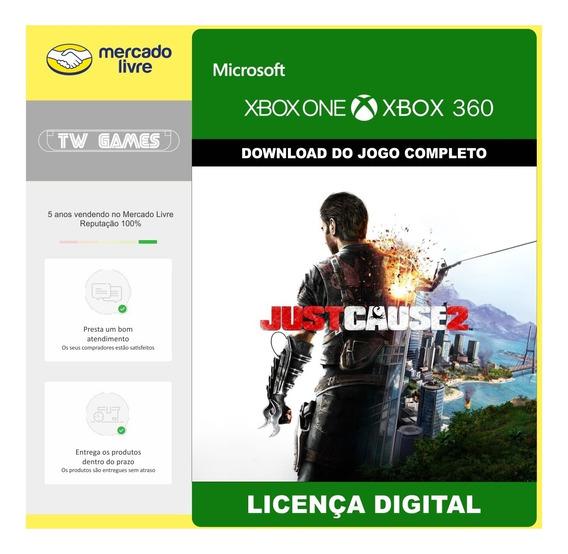 Just Cause 2 Digital Retro Xbox One Xbox 360