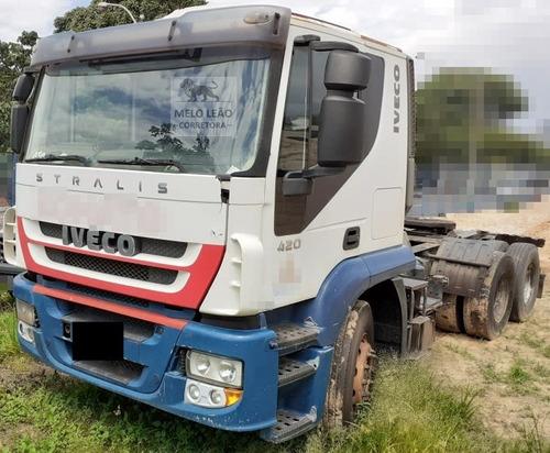 Iveco Stralis Hd 570s42tn1- 08/08 -cavalo Truck, Cab Leito *