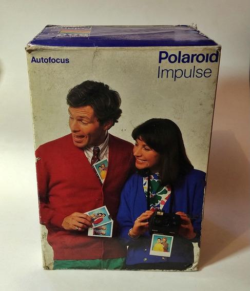 Câmera Polaroid Impulse Af Analógica Na Caixa