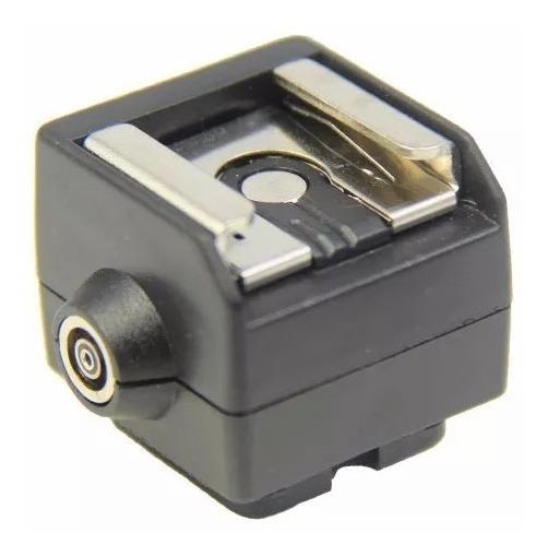 Adaptador Sapata De Flash Universal Canon Nikon Hc-2 Sc-2