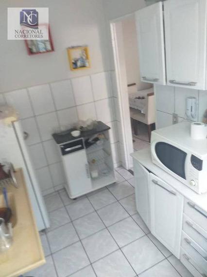 Apartamento Com 2 Dormitórios À Venda, 44 M² Por R$ 185.000,00 - Parque Das Nações - Santo André/sp - Ap6805