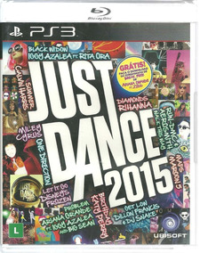 Just Dance 2015 Ps3 Original Lacrado Mídia Física Português