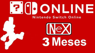 Suscripción 3 Meses Nintendo Switch Online