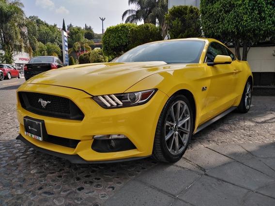 Ford Mustang Gt Prem Amarillo 2016