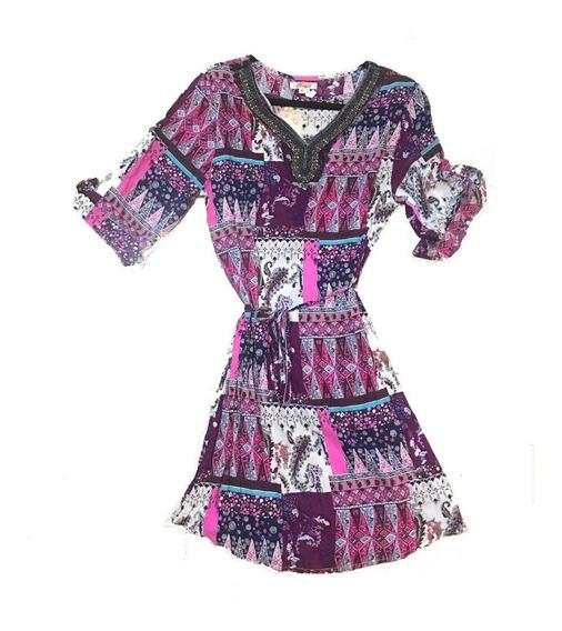 Vestidos Casuales Nuevo Importado Estampado Ropa Mujer Dama