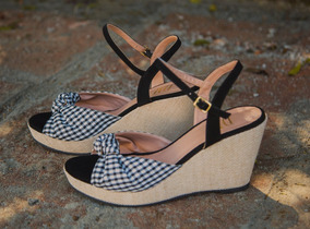 53b5dcb80d Sandalia Anabela Moleca Tamanho Especial 41 42 Feminino - Sapatos no ...