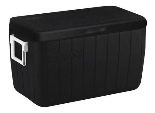 Imagem 1 de 5 de Caixa Térmica Cooler Coleman All Black Preto Com Alças 45,4l
