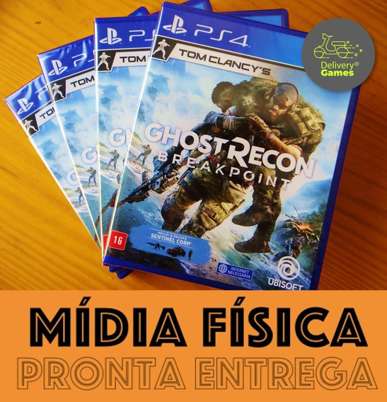 Ghost Recon Breakpoint Ps4 Mídia Física Novo Lacrado