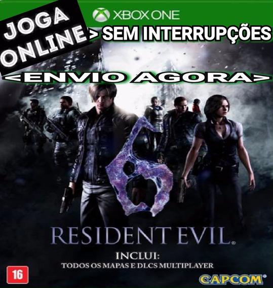 Resident Evil 6 Resident 6 Xbox One Online Digital Original