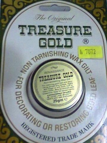 Treasure Gold Pasta De Oro Made In U.k. Envios Gratis