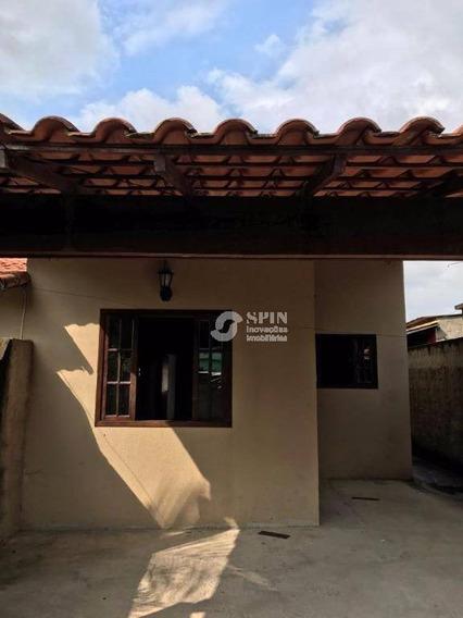 Excelente Casa De 2 Quartos Em Itaborai, Proximo Ao Vera Gol. - Ca0150