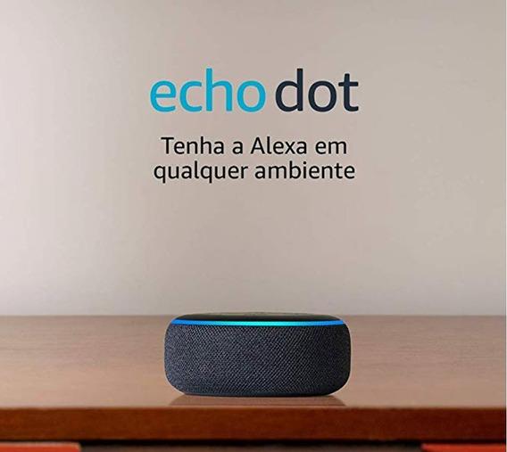 Echo Dot (3ª Geração): Smart Speaker Com Alexa