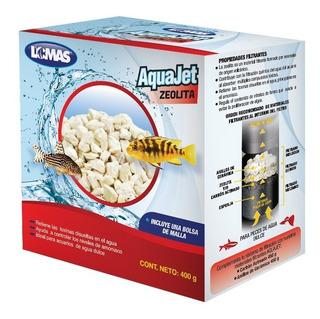Zeolita Aquajet 400 Grs Peces Acuario Filtración