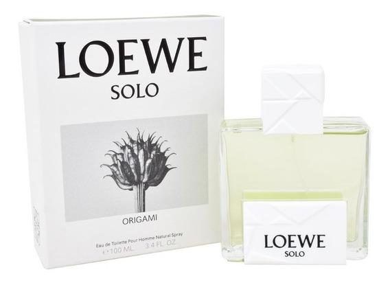Solo Loewe Origami 100 Ml Eau De Toilette De Loewe