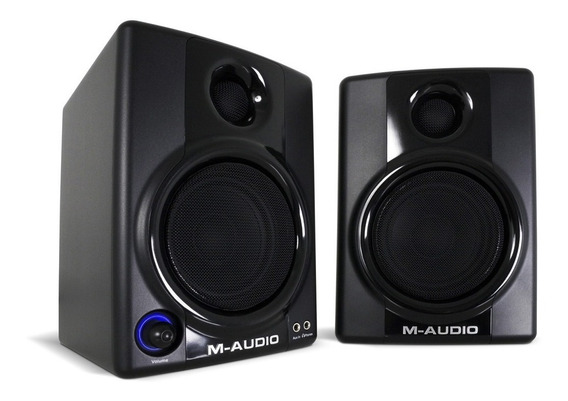 Monitor De Áudio Studio M-audio Av30 Studiophile Av30 Maudio