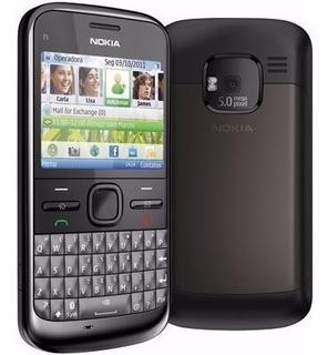 Lote 10 Celulares Nokia E5 Wifi 5 Mp Mostruario Sem Bateria