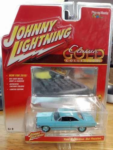 Johnny Lightning - 1967 Ford Fairlane 500 Xl - 1:64 Azul