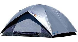 Barraca Camping Luna 6 Pessoas Com Proteção De Vazamento Mor