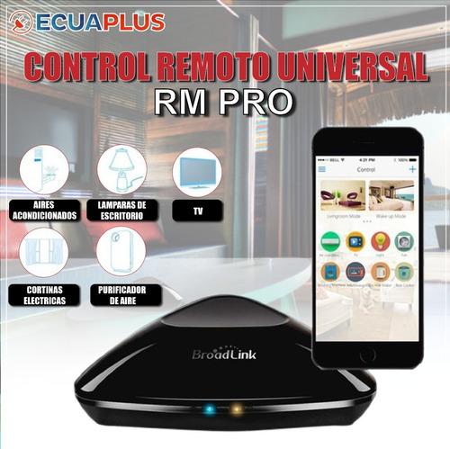 Imagen 1 de 2 de Domotica Broadlink Rm Pro Casas Inteligentes Luces Switch