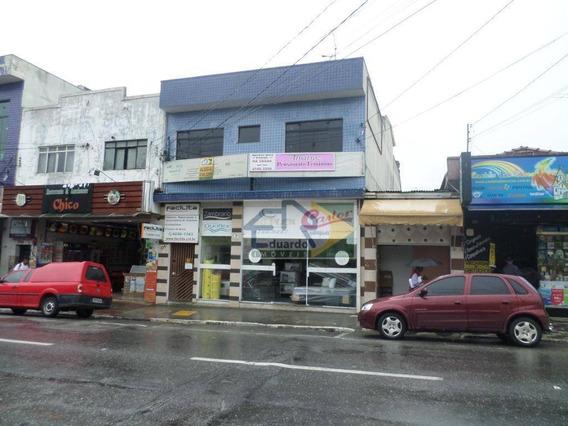 Kitnet Com 1 Dormitório Para Alugar, 28 M² Por R$ 500/mês - Centro - Suzano/sp - Kn0036