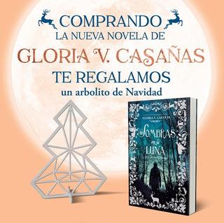 Sombras En La Luna - Gloria V. Casañas + Arbolito De Navidad