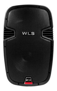 Caixa Acústica Profissional Wls W10 Passiva Dj Promoção !