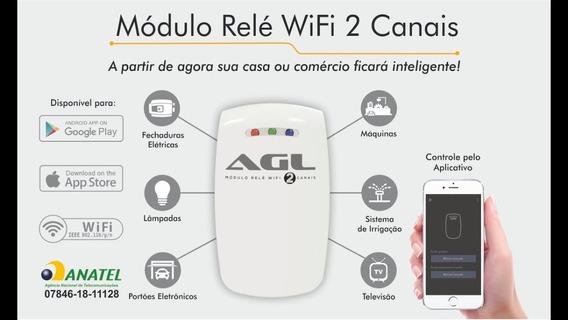 Modulo Relé Wifi 2 Canais - Agl