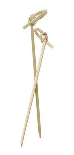 Imagen 1 de 3 de Perfect Stix Bamboo Pick 4 200ct Bamboo Knot Picks Cocktail