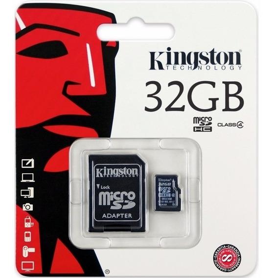 Cartões De Memória 32 Gb, Kingston E Sandisk 100% Originais!