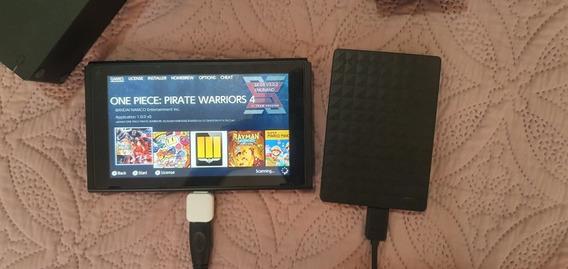 Nintendo Switch Desbloqueado (sx Os) + Hd + Sd