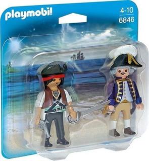 Playmobil Duo Pack 6846 Pirata Y Soldado Playlgh