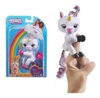 Muñeco Fingerlings Unicornio O Robot Interactivo