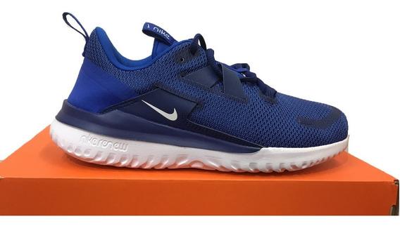 Tênis Nike Renew Arena Spt Azul E Branco Original