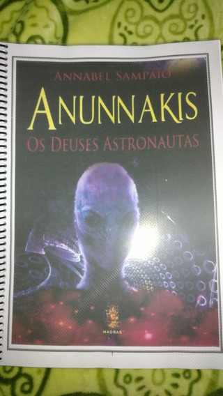 Livro Encadernado Anunnakis 185 Paginas