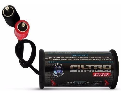 Filtro Anti Ruído Jfa P/ Rca Cd Dvd Eletromagnético Stereo