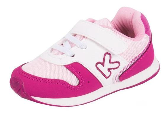 Tenis Klin Mini Walk Rosa Pink